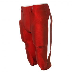 Custom football pants in red the Dominator