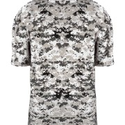 custom white digital camo tee