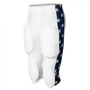 White American Stars football pants design