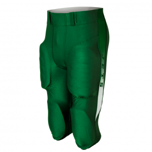Green football pants short