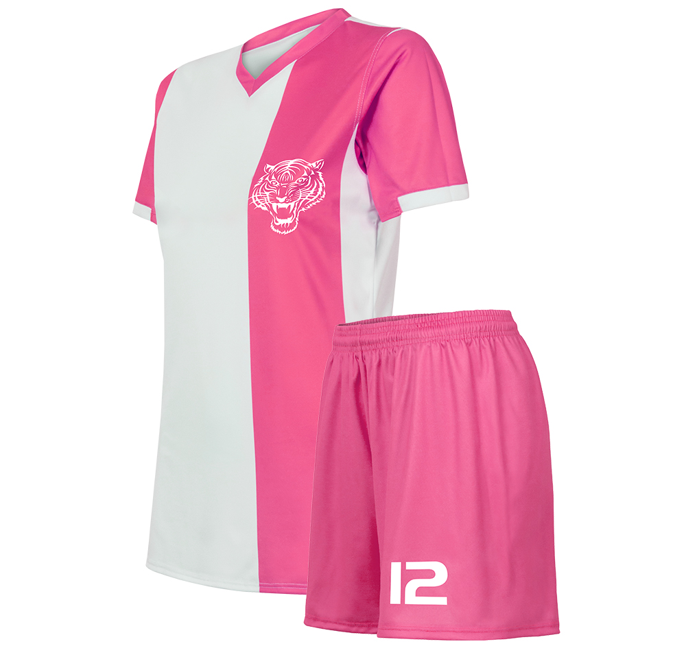 dar green stipres soccer uniform