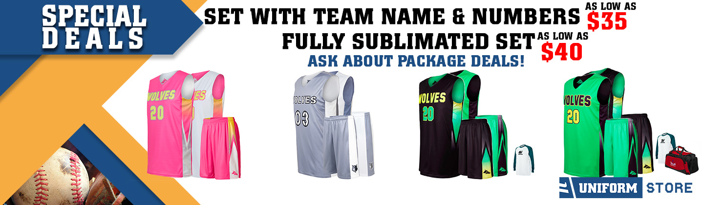 Custom Basketball Uniform Promotion