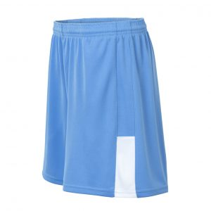 custom blue softball short