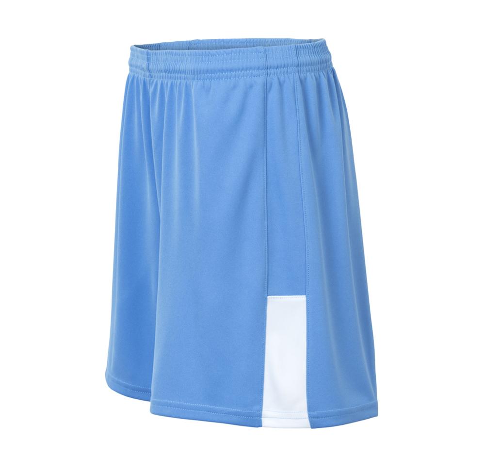 custom blue softball short