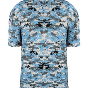 custom ocean blue digital camo tee