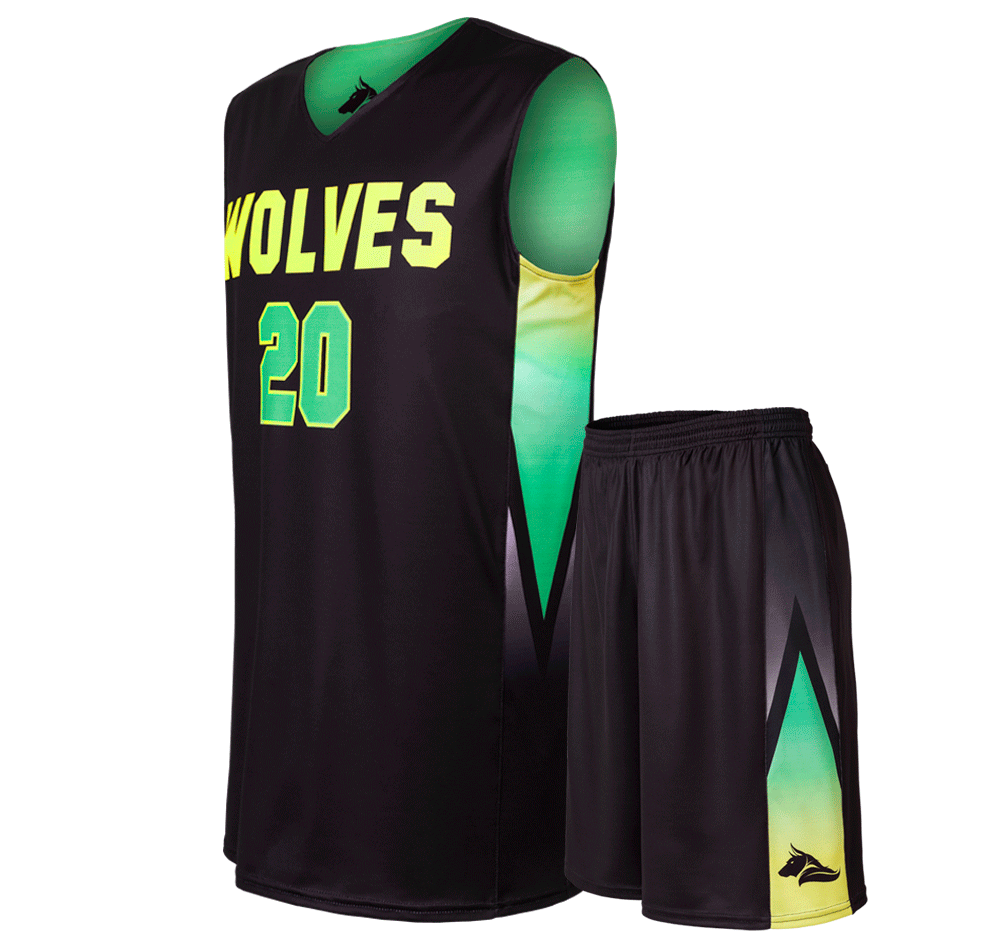 Basketball Uniforms Courtside L Set