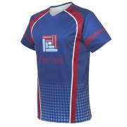 custom blue eSports jersey