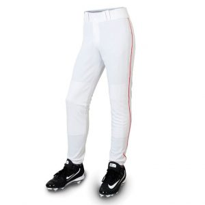 white classic pant for softball