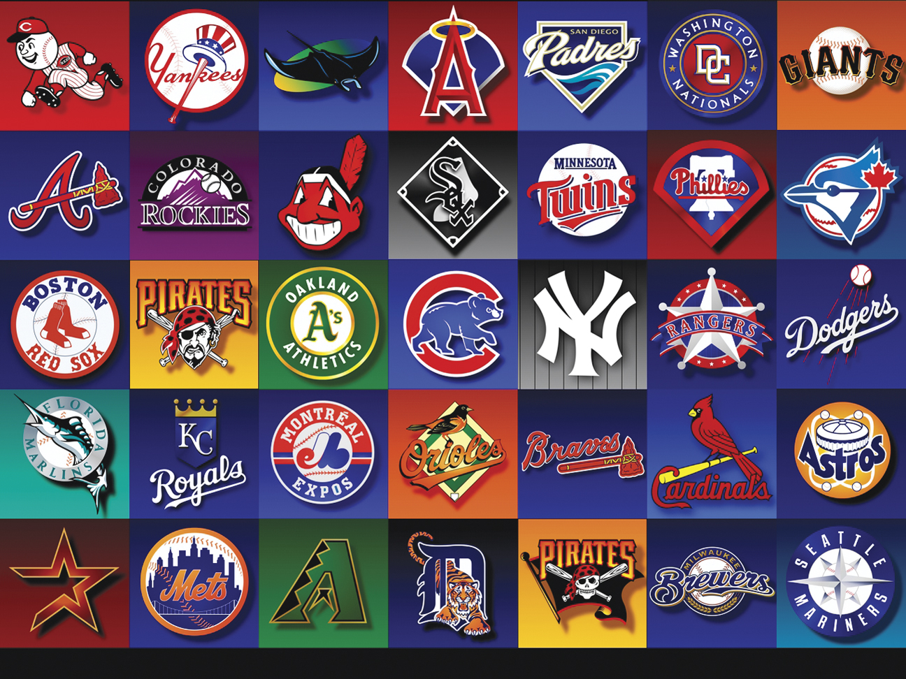 Which Major League Baseball Team Has The Best Logo