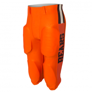 Orange Bears Football Pant