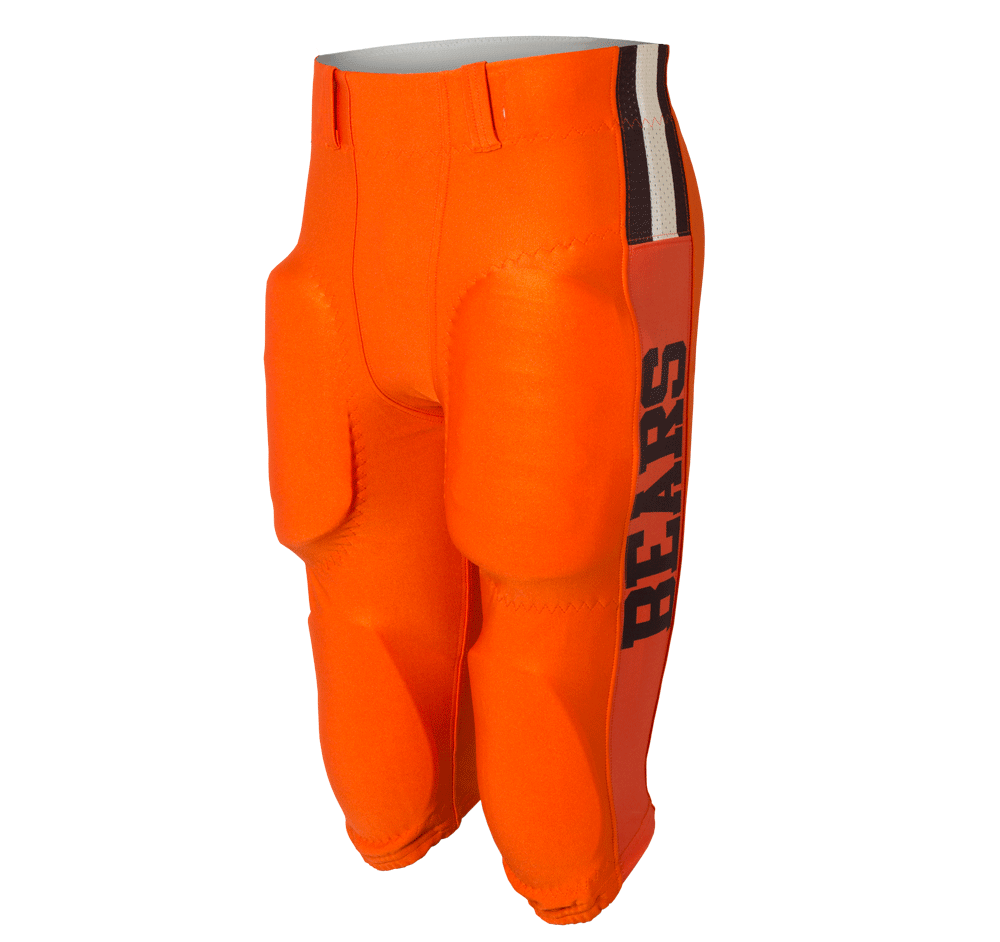 Orange Bears Football Pant