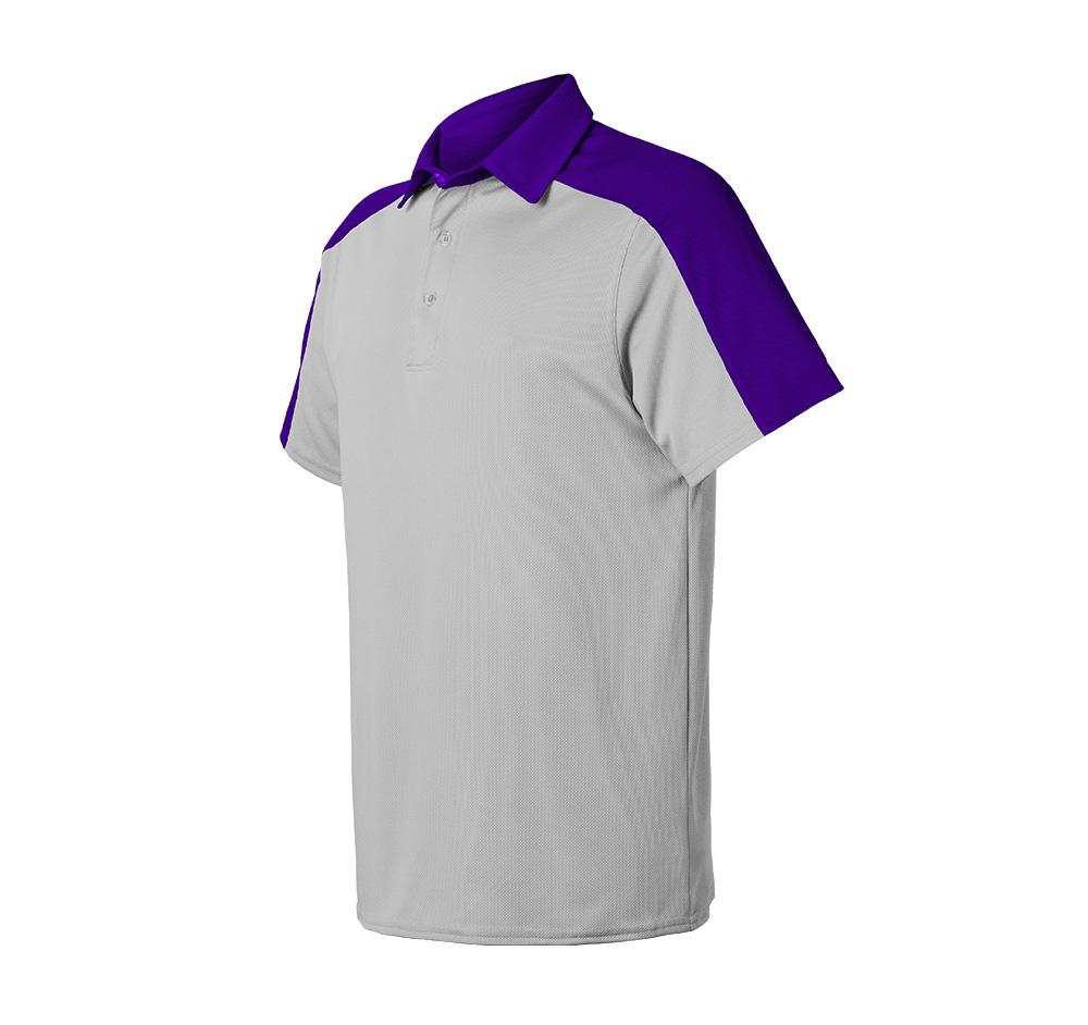 Ace polo shirt uniform store for Purple polo uniform shirts
