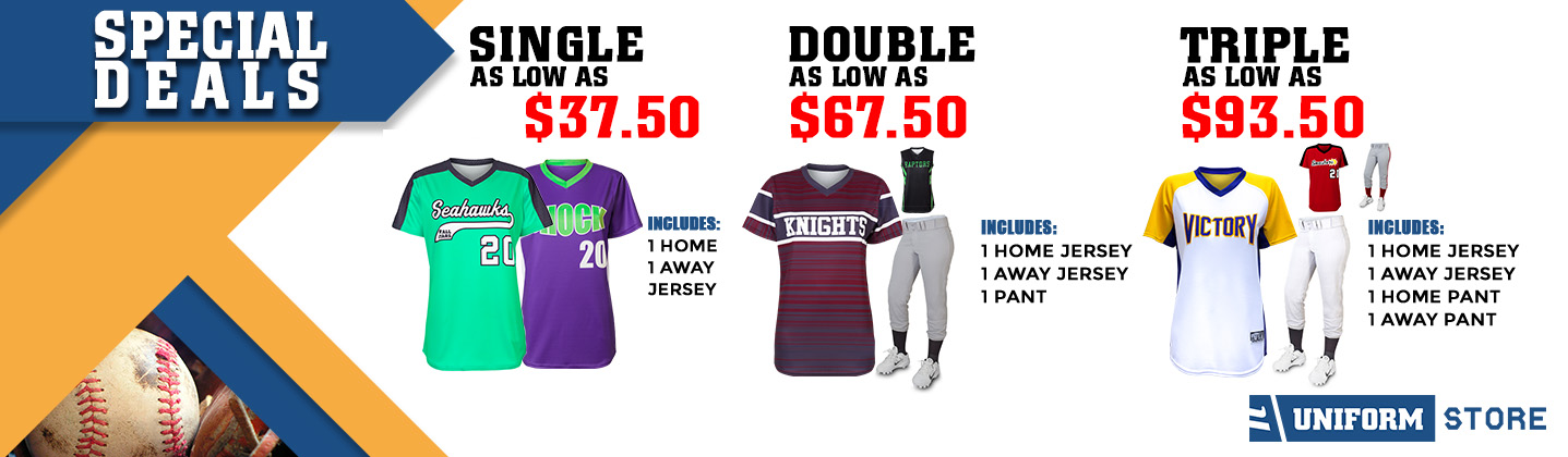 Custom Baseball Uniform Promotion