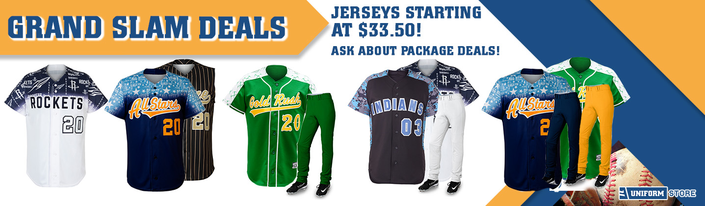 Custom Baseball Uniform Sets Promotion